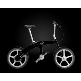 Mando Footloose Folding Chainless Electric Bike (Black)
