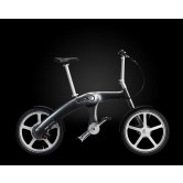 Mando Footloose Folding Chainless Electric Bike (Dark Grey)