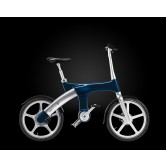 Mando Footloose IM Chainless Electric Bike (Dark Blue)