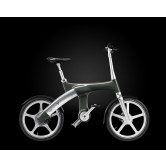 Mando Footloose IM Chainless Electric Bike (Dark Silver)