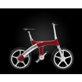 Mando Footloose IM Chainless Electric Bike (Red)