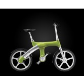 Footloose IM Chainless Electric Bike (Yellow/Green)